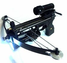 50 lbs PIRANHA Fishing Tactial pistol crossbow w/  6mm balls magazine