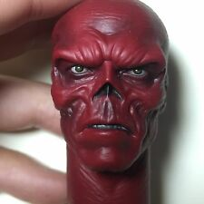 HYDRA 1/6 Scale Red Skull Head Sculpt For Hot Toys Figure Body CAPTAIN AMERICA