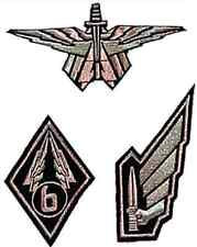 Starship Troopers Movie  Embroidered Patch Set of 3-FREE S&H (SSTPA-7903)