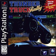 Thunder Truck Rally - PS1 PS2 Playstation Game Only