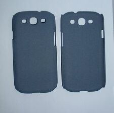 Matte Quicksand Hard Skin Case Cover For Samsung Galaxy S 3 III S3 I9300 Gray