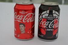 Euro 2016 Coca Cola 2x Cans Robert Lewandowski & CC Zero Poland Polish Edition