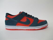 Nike SB Dunk Low Reverse Shark Nightshade Chile Red Sz 9 854866-336