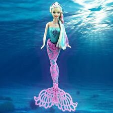 Cartoon Princess Swimming Mermaid Tail Play Toy For Girls Kid Child with bath
