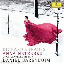 Strauss: Four Last Songs (4 Lieder), Ein Heldenleben / Netrebko, Barenboim - CD