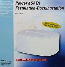 """Power eSATA-Festplatten-Dockingstation 2,5"""" und 3,5"""""""
