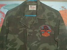 VIETNAM ERA PRE ERDL CANVASBACK DUCK HUNTER BEO GAM JUNGLE JACKET HAC LONG PATCH