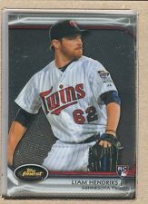 Liam Hendriks 77 2012 Topps Finest Rookie RC