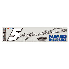 "KASEY KAHNE #5 FARMERS INSURANCE NASCAR ULTRA DECAL 4""X17"" LONG"