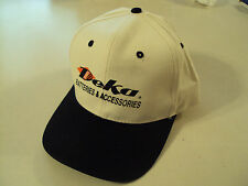 NEW DEKA BATTERY HAT CAP BATTERIES