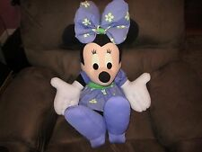 """minnie mouse 31"""" tall stuffed part of mickey family"""