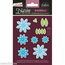 Crafters Companion Die'sire Dies - Flowers For All Occasions 3 - Daisies -New In
