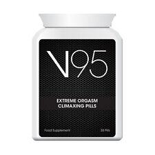 V95 Extreme orgasmo climaxing Pastillas más profundo más orgasmos más extremas Sexy