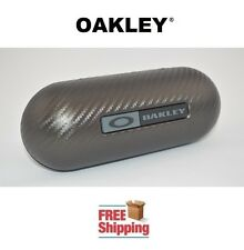 OAKLEY® SUNGLASSES EYEGLASSES LARGE CARBON FIBER HARD STORAGE CASE NEW FREE SHIP