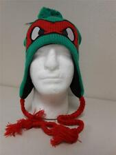 NEW RAPHAEL OSFA TEENAGE MUTANT NINJA TURTLES TMNT FLEECE LINED BEANIE Hat 19SX