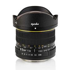 Opteka 6.5mm HD Fisheye Lens f Canon EOS 7D 6D 5D 70D 60D T5i T5 T3i T3 SL1 100D