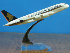 SINGAPORE AIRLINES A380 Passenger Airplane Plane Metal Diecast Model Collection