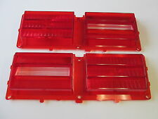 75 76 77 78 79 NOVA NEW PAIR OF TAILLIGHT LENSES GM AUTHORIZED RESTORATION PART