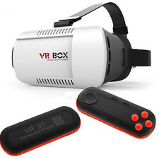 VR SCATOLA Virtuale Reality Google 3D Occhiali Bluetooth Telecomando