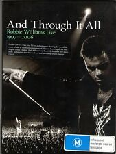 """ROBBIE WILLIAMS  """"AND THROUGH IT ALL ...  LIVE 1997 -2006"""" 2DVD SET [VGC]"""