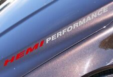 HEMI PERFORMANCE For Dodge Ram Hood sticker decal emblem 2014 2015 5.7L V8 turbo