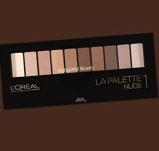 L'OREAL Colour Riche LA PALETTE NUDE 1 Eyeshadow Palette ~ DELIGHTFUL BEAUTY