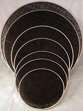 "16"" Mesh Drum Head Black 2-ply 40 Mil. Electronic V-Drum"