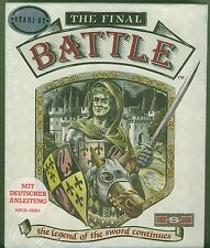 The Final Battle The Legend of the Sword Continues NEW Box NEU  Folie Atari ST