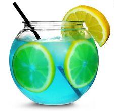 2 x cocktail en plastique bowl 6 pouces aquarium jeux poisson boissons summer garden party