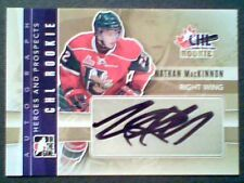 NATHAN MacKINNON  11/12 AUTHENTIC CHL ROOKIE PROSPECT AUTOGRAPH