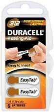 Duracell Activair Hearing Aid Batteries Size 312 (12)