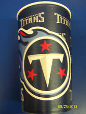 Tennessee Titans NFL Pro Football Sports Banquet Party Favor 22 oz. Plastic Cup