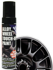 E-Tech Car Alloy Wheel Chip Kurb Damaged Repair Touch Up Paint Pen Stick - BLACK