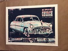 Eric Church Ottawa ON Canada 2013 Poster Signed AP