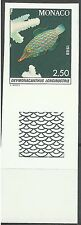 Monaco Poisson Harlequin Spotted Filefish Fische Non Dentele Imperf Proof **1988