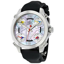 Jacob and Co. Five Time Zones Mother of Pearl Dial Unisex Watch JCM-15