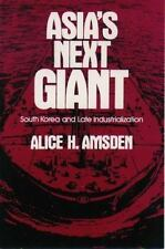 Asia's Next Giant: South Korea and Late Industrialization (Oxford Paperback Refe