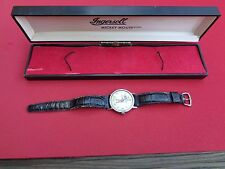 Walt Disney Ingersoll Mickey Mouse Watch w/ Original Box Wind Up Working