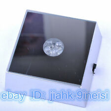 Square Crystal Display 4 LED GRB Light Base - Display for Crystal 3D Glass NEW