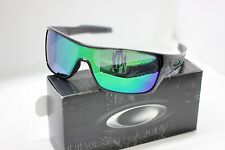 NEW OAKLEY TURBINE ROTOR SUNGLASSES | BLACK INK W/ JADE IRIDIUM 9307-04