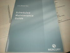 2004 MERCURY GRAND MARQUIS MOUNTAINEER MARAUDER SABLE MAINTENANCE OWNERS GUIDE