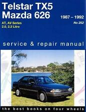 Gregorys Service Repair Manual Ford Telstar TX5 AT AV 1987-1992 OWNERS WORKSHOP