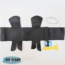 spezifischer Lenkrad Bezug schwarz echt Leder schnüren GELOCHT Sattler Audi A4