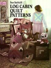 Log Cabin Quilt Patterns (Dover Needlework Series)-ExLibrary
