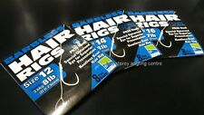 Preston Hair Rigs - Barbless 15inch size 12, 14 & 16