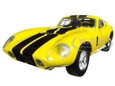 1965 SHELBY COBRA DAYTONA COUPE YELLOW 1:18 MODEL CAR BY ROAD SIGNATURE 92408
