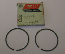 YAMAHA PISTON RINGS 0.50 2ND OVER SIZED GP338 1974 SL338F 1976 GS340 1977 GS340A