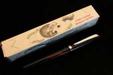 NOODLERS CARDINAL DARKNESS STANDARD PISTON FLEX NIB FOUNTAIN PEN