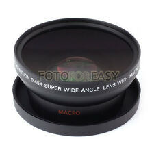 62mm 0.45x Digital High Definition Wide Angle & Macro Conversion Lens 0.45x 62
