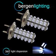 2X H7 WHITE 60 LED FRONT FOG SPOT LAMP LIGHT BULBS HIGH POWER KIT XENON FF500303